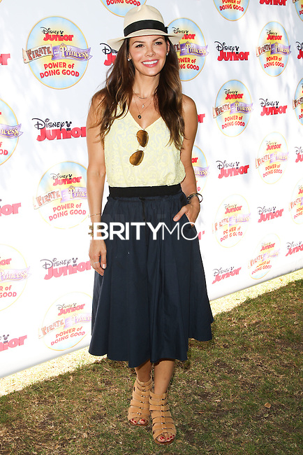 PASADENA, CA, USA - AUGUST 16: Ali Landry at the Disney Junior's 'Pirate And Princess: Power Of Doing Good' Tour held at Brookside Park on August 16, 2014 in Pasadena, California, United States. (Photo by Celebrity Monitor)