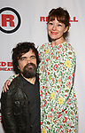 Peter Dinklage and Erica Schmidt attends the Opening Night Party for Red Bull Theater's All-Female MAC BETH at Houston Hall on May 19, 2019 in New York City.