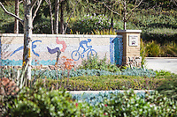 Mosaic Tile Wall At Oso Creek Trail Mission Viejo
