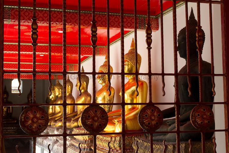 Buddha statues at Wat Pho, Bangkok