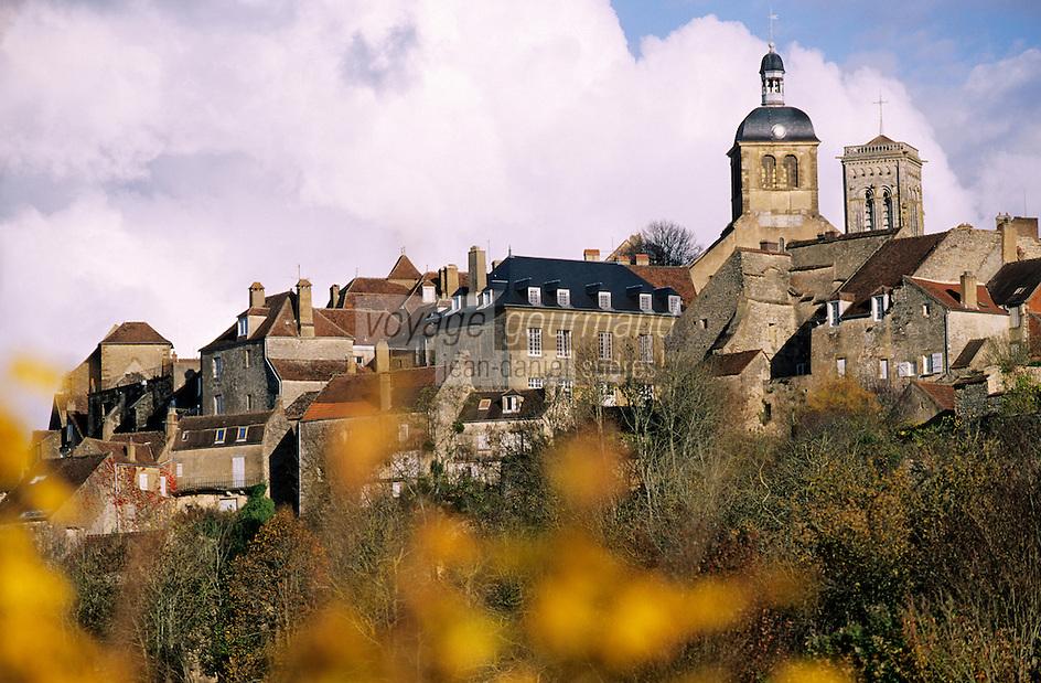 Europe/France/89/Yonne/Vézelay: Village de Vézelay