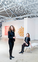 CAM's Executive Director Gab Smith  and Marjorie Hodges, Director of Contemporary Art Foundation