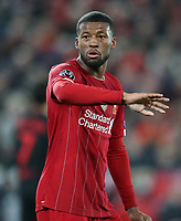 11th March 2020; Anfield, Liverpool, Merseyside, England; UEFA Champions League, Liverpool versus Atletico Madrid;  Georginio Wijnaldum of Liverpool