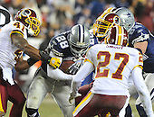 Landover, MD - December 27, 2009 -- Dallas Cowboys running back Felix Jones (28) carries the ball in the fourth quarter against the Washington Redskins at FedEx Field in Landover, Maryland on Sunday, December 27, 2009.  The Cowboys won the game 17 - 0..Credit: Ron Sachs / CNP.(RESTRICTION: NO New York or New Jersey Newspapers or newspapers within a 75 mile radius of New York City)