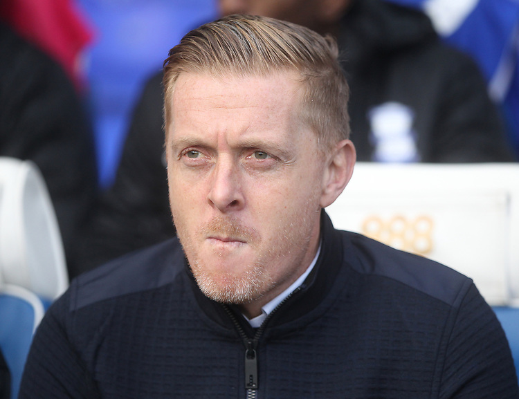 Birmingham City's Garry Monk<br /> <br /> Photographer Mick Walker/CameraSport<br /> <br /> The EFL Sky Bet Championship - Birmingham City v Preston North End - Saturday 1st December 2018 - St Andrew's - Birmingham<br /> <br /> World Copyright &copy; 2018 CameraSport. All rights reserved. 43 Linden Ave. Countesthorpe. Leicester. England. LE8 5PG - Tel: +44 (0) 116 277 4147 - admin@camerasport.com - www.camerasport.com