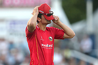 Despair for Alastair Cook of Essex during Essex Eagles vs Notts Outlaws, Royal London One-Day Cup Semi-Final Cricket at The Cloudfm County Ground on 16th June 2017