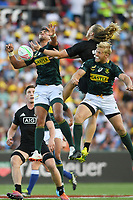 New Zealand v South Africa, 2019 HSBC World Sevens Series Hamilton at FMG Stadium in Hamilton, New Zealand on Sunday, 27 January 2019. Photo: Kerry Marshall / lintottphoto.co.nz