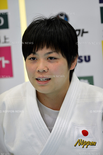 Megumi Tsugane (JPN),.MARCH 27, 2013 - Judo : Japan women's team training session at Ajinomoto National training center, Tokyo, Japan. (Photo by Jun Tsukida/AFLO SPORT).