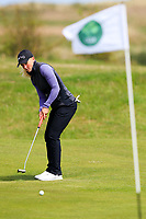 Romy Meekers (NED) during the final round at the Irish Woman's Open Stroke Play Championship, Co. Louth Golf Club, Louth, Ireland. 12/05/2019.<br /> Picture Fran Caffrey / Golffile.ie<br /> <br /> All photo usage must carry mandatory copyright credit (&copy; Golffile | Fran Caffrey)