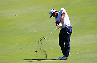 Hideto Tanihara (JPN) in action on the 10th during Round 3 of the ISPS Handa World Super 6 Perth at Lake Karrinyup Country Club on the Saturday 10th February 2018.<br /> Picture:  Thos Caffrey / www.golffile.ie<br /> <br /> All photo usage must carry mandatory copyright credit (&copy; Golffile | Thos Caffrey)