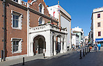 Convent building the official residence of the Governor of Gibraltar, British terroritory in southern Europe