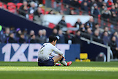 2nd February 2019, Wembley Stadium, London England; EPL Premier League football, Tottenham Hotspur versus Newcastle United; A dejected Son Heung-Min of Tottenham Hotspur