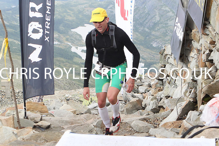 Race number 82 - Drew Marlar - Sunday Norseman Xtreme Tri 2012 - Norway - photo by chris royle / boxingheaven@gmail.com