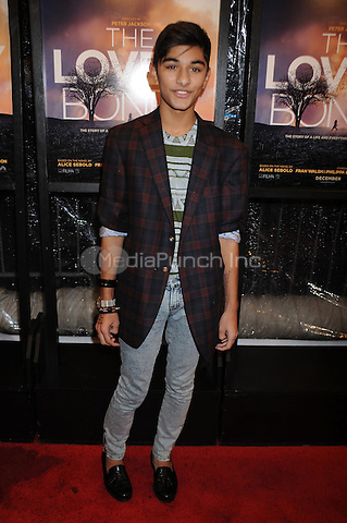 Mark Indelicato at the special screening of 'The Lovely Bones' at the Paris Theatre in New York City. December 2, 2009. Credit: Dennis Van Tine/MediaPunch
