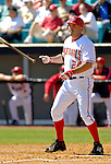 8 March 2006: Nick Johnson, first baseman for the Washington Nationals, at bat during a Spring Training game against the St. Louis Cardinals. The Cardinals defeated the Nationals 7-4 in 10 innings at Space Coast Stadium, in Viera, Florida...Mandatory Photo Credit: Ed Wolfstein.