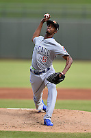 Mesa Solar Sox pitcher C.J. Edwards (8) during an Arizona Fall League game against the Peoria Javelinas on October 15, 2014 at Surprise Stadium in Surprise, Arizona.  Mesa defeated Peoria 5-2.  (Mike Janes/Four Seam Images)