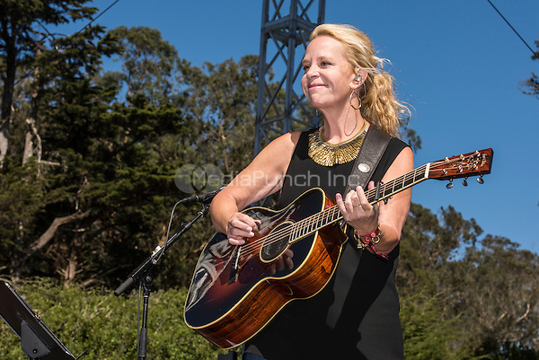 Mary Chapin Carpenter photographed at Hardly Stricly Bluegrass in Golden Gate Park in San Francisco, CA October 1, 2016©Jay Blakesberg /MediaPunch