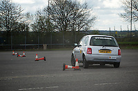 Activity from Loughborough Car Club's 2012 Disabled Driver Scholarship assessment day. A5 Nightowl Truckstop
