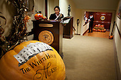 Washington, DC - October 26, 2009 -- Pumpkins decorate the Navy Mess in the West Wing of the White House, October 26, 2009. .Mandatory Credit: Pete Souza - White House via CNP