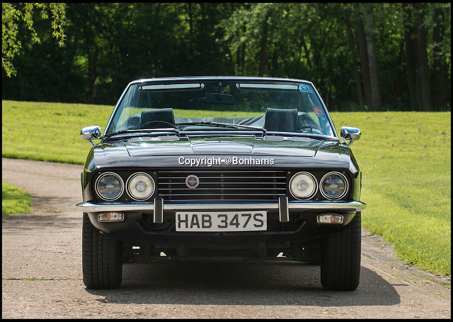 BNPS.co.uk (01202 558833)<br /> Pic: Bonhams/BNPS<br /> <br /> The late John Bonham's classic car will be sold at the Goodwood Festival of Speed on June 24. <br /> <br /> The 1976 Jensen Interceptor Mark 3 Convertible boasts a 7.2 litre V8 engine, 330bhp and a top speed of around 140mph.<br /> <br /> Bonham, a fanatical collector of cars, is thought to have felt a particular closeness to his Interceptor due to the fact that is was manufactured just 20 miles away from his hometown. <br /> <br /> Jenson Motors ceased trading the year Bonham bought the car - with his being one of the last to leave the factory.