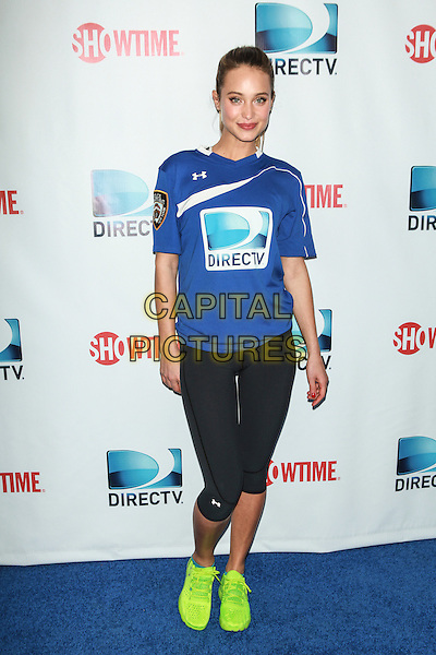 NEW YORK, NY - FEBRUARY 1: Hannah Davis attends the DirecTV Beach Bowl at Pier 40 on February 1, 2014 in New York City. <br /> CAP/MPI/COR<br /> &copy;Corredor99/ MediaPunch/Capital Pictures