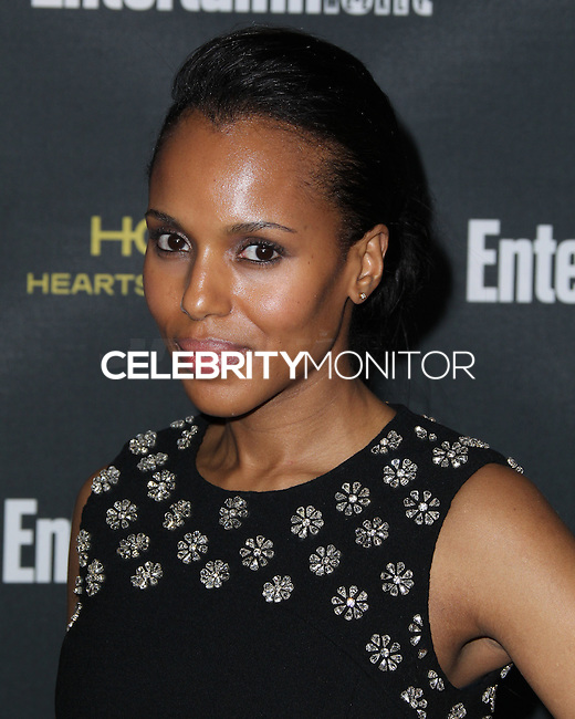 WEST HOLLYWOOD, CA, USA - AUGUST 23: Kerry Washington arrives at the 2014 Entertainment Weekly Pre-Emmy Party held at the Fig & Olive on August 23, 2014 in West Hollywood, California, United States. (Photo by Xavier Collin/Celebrity Monitor)