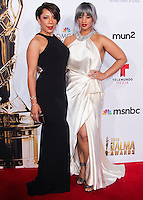 PASADENA, CA, USA - OCTOBER 10: Selenis Leyva, Dascha Polanco arrive at the 2014 NCLR ALMA Awards held at the Pasadena Civic Auditorium on October 10, 2014 in Pasadena, California, United States. (Photo by Celebrity Monitor)