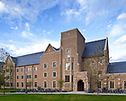 Main entrance of Ryan Hall..Photo by Matt Cashore/University of Notre Dame