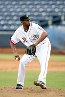 Daryl Thompson - Peoria Saguaros - 2010 Arizona Fall League.Photo by:  Bill Mitchell/Four Seam Images..