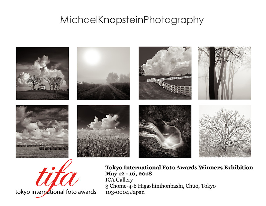"Eight photographs from my ""Midwest Memoir"" portfolio were included in an exhibit at the ICA Gallery in Tokyo, Japan."