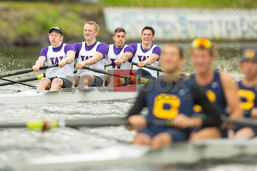 The University of Washington crew teams battle Cal on April 27, 2013.(Photo by Scott Eklund /Red Box Pictures)