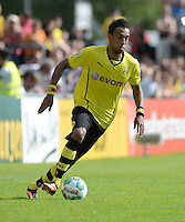 FUSSBALL       DFB POKAL 1. RUNDE        SAISON 2013/2014 SV Wilhelmshaven - Borussia Dortmund    03.08.2013 Pierre-Emerick Aubameyang (Borussia Dortmund) am Ball