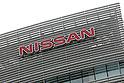 Nissan Motor Co.'s logo is seen on the headquarters building in Yokohama, south of Tokyo November 2, 2015.  (Photo by Takeshi Sumikura/AFLO)