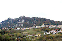 Veduta di San Marino.<br /> Overview of San Marino.<br /> UPDATE IMAGES PRESS/Riccardo De Luca