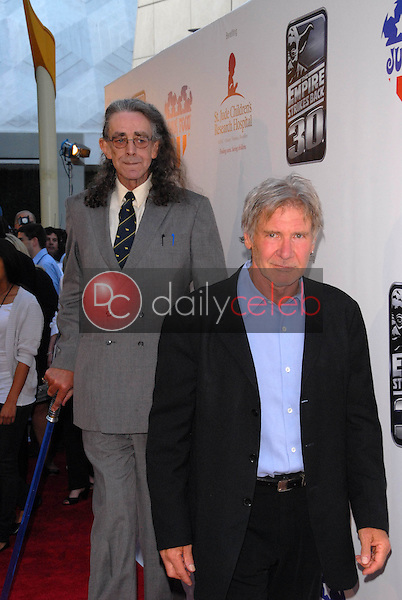 Peter Mayhew and Harrison Ford<br /> at &quot;The Empire Strikes Back&quot; 30th Anniversary Charity Screening Benefiting St. Jude Children's Research Hospital, ArcLight Cinemas, Hollywood, CA. 05-20-10<br /> David Edwards/Dailyceleb.com 818-249-4998