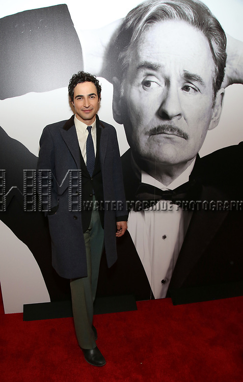 Zac Posen attends the Broadway Opening Night Performance of 'Present Laughter' at St. James Theatreon April 5, 2017 in New York City