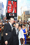 As The World Turns' Colleen Zenk is ordained Universal Life Church minister who officiated the wedding of We Love Soaps  Roger Newcomb and Kevin Mulcahy Jr on August 18, 2012 in Times Square, New York City, New York. (Photos by Sue Coflin/Max Photos)