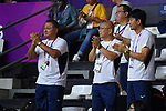 Yasuhiro Yamashita (JPN), <br /> AUGUST 15, 2018 - Basketball : Women's Qualification round match between Hong Kong 44-121 Japan at Gelora Bung Karno Basket Hall A during the 2018 Jakarta Palembang Asian Games in Jakarta, Indonesia. <br /> (Photo by MATSUO.K/AFLO SPORT)