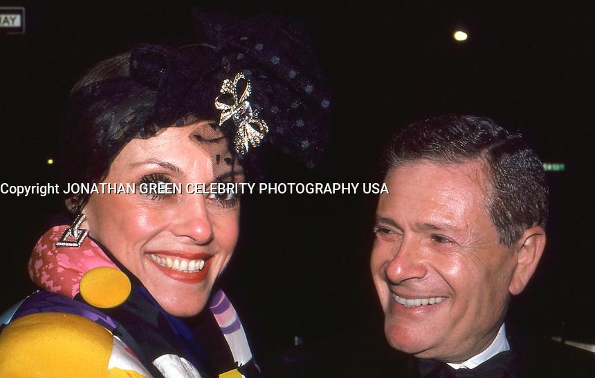 Liliane Montevecchi & Jerry Herman 1986 by Jonathan Green