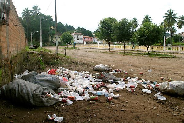 Lencois_BA, Brasil...Lixo na rua da cidade de Lencois...The garbage in the street in Lencois ciy...Foto: LEO DRUMOND / NITRO