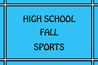 Fieldcrest Fall Sports, Golf, Volleyball, Cross Country, Team and Individuals