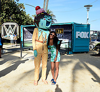 MIAMI BEACH, FL - JANUARY 30: FOX SUPER BOWL LIV ACTIVATION AT LUMMUS PARK AND FOX SPORTS SOUTH BEACH STUDIO: Ice Cream from The Masked Singer at FOX's weeklong interactive fan experience on the beach in Miami at Lummus Park on January 30, 2020 in Miami Beach, Florida. (Photo by Frank Micelotta/Fox/PictureGroup)