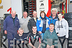 Having fun at the Cartell.ie Rally of the Lakes last Saturday afternoon were front l-r: Jason Costelloe, Kris Treanor and Martin Quirke. Back l-r: Mike Kenny, Gerry Lehane, Ray Stack, Marian McCarthy, JP Kennelly and Claire McCarthy all Tralee & Killarney.