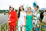 Enjoying the Killarney Races on Thursday were Helena Fox, Kaylin Fox, Kaylin Fox and Denise Curran