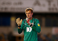 14th July 2020; The Den, Bermondsey, London, England; English Championship Football, Millwall Football Club versus Blackburn Rovers; Goalkeeper Christian Walton