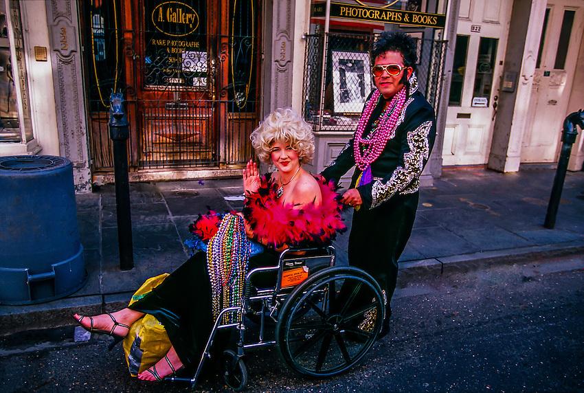 Mardi Gras, French Quarter, New Orleans, Louisiana USA