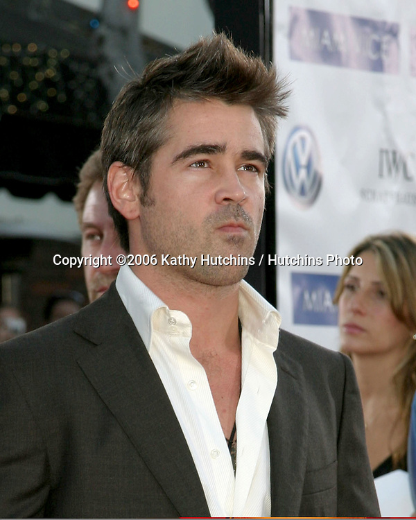 "Colin Farrell .""Miami Vice"" Premiere.Mann's Village Theater.Westwood, CA.July 20, 2006.©2006 Kathy Hutchins / Hutchins Photo...."