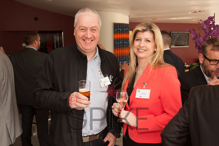 Paul McClure of Condor International Events and Anne Batty of Paperclip Admin