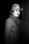 Liz Smith attends a Broadway Show on November 1, 1991 in New York City.