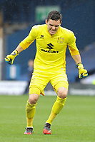 Milton Keynes Dons' goal keeper Lee Nicholls celebrates his sides second goal<br /> <br /> Photographer Juel Miah/CameraSport<br /> <br /> The EFL Sky Bet League One - Bury v Milton Keynes Dons - Saturday 30th September 2017 - Gigg Lane - Bury<br /> <br /> World Copyright &copy; 2017 CameraSport. All rights reserved. 43 Linden Ave. Countesthorpe. Leicester. England. LE8 5PG - Tel: +44 (0) 116 277 4147 - admin@camerasport.com - www.camerasport.com